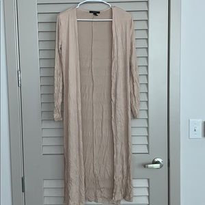 Long cardigan, cute to wear with a dress!!